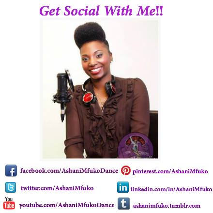 Connect with me on all of your favorite social media sites!