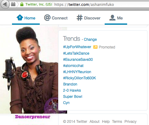 The Let's Talk Dance Tweetchat Is Usually A Top Trending Topic On Twitter!