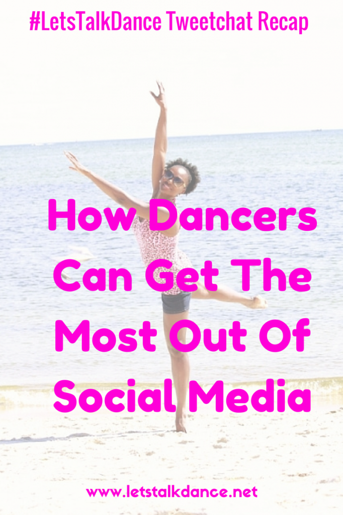 How Dancers Can Get The Most Out Of Your Time Spent On Social Media