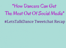 How dancers can get the most out of social media